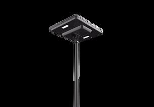 Lampadaires solaire parking place