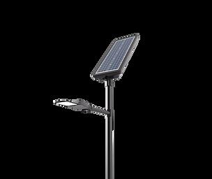 Lampadaires solaire voie verte