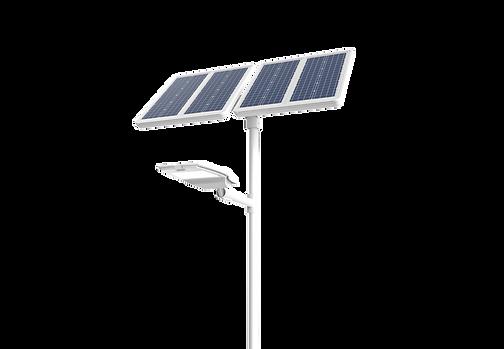lampadaire solaire autonome route