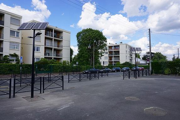 Lampadaires Publics Solaires dans l'Hérault 34