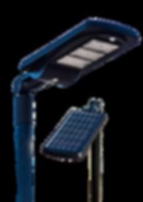 tete lampadaire solaire pour lotissement copropriété syndic