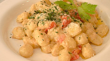 Gnocchi di patate(ニョッキ・ディ・パターテ)ア・ラ・クレーマ