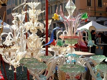 ベネチアングラス・アンティーク・蚤の市