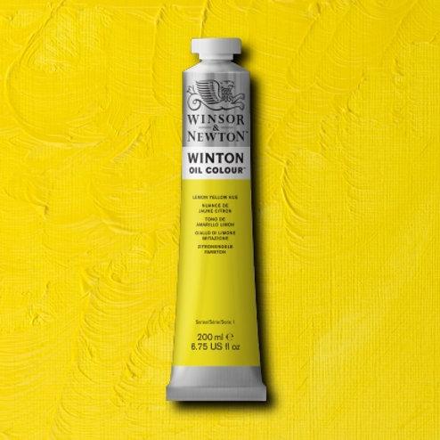 Winton Oil Colour Lemon Yellow Hue