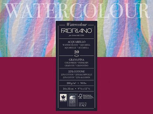 Fabriano Watercolour 200g GF 18X24cm