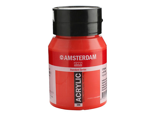 Amsterdam Standard 500ml - Napthol Red Medium