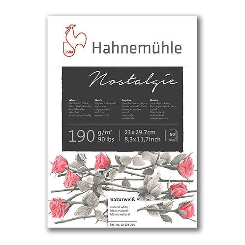 Hahnemühle - Skisseblokk Nostalgie 190g A2