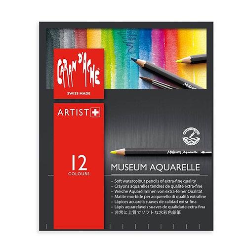 Caran d'Ache Museum Aquarelle 12-pack