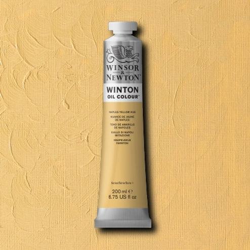 Winton Oil Colour Naples Yellow Hue