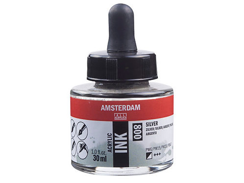 Amsterdam Ink 30ml – 800 Silver