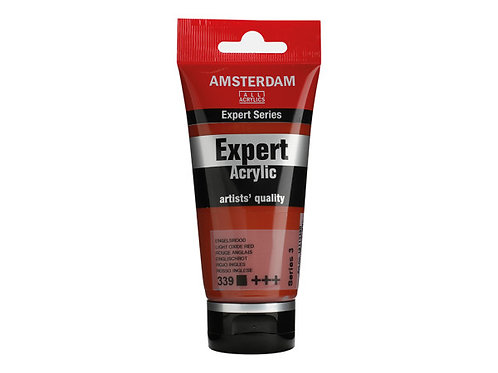 Amsterdam Expert 75ml - Light Oxide Red