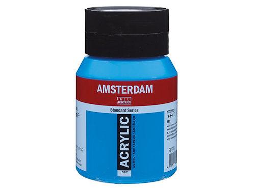 Amsterdam Standard 500ml - Manganese Blue Pthalo