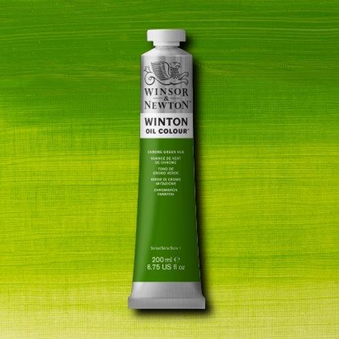 Winton Oil Colour Chrome Green Hue