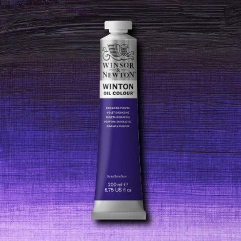 Winton Oil Colour Dioxazine Purple