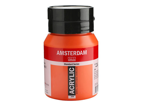 Amsterdam Standard 500ml - Napthol Red It.