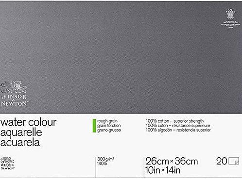 W&N Super Premium - Akvarellblokk Rough Grain 300g 26x36 cm