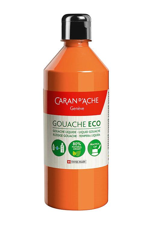 Caran d'Ache Gouache ECO Liquid 500ml Orange