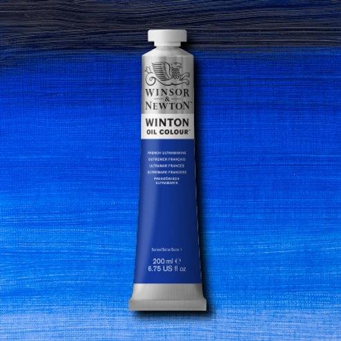 Winton Oil Colour French Ultramarine