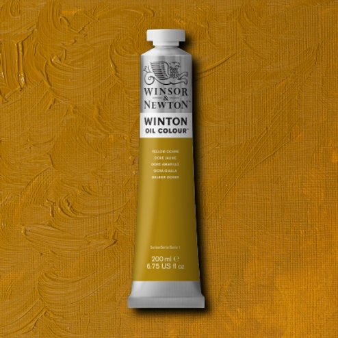 Winton Oil Colour Yellow Ochre