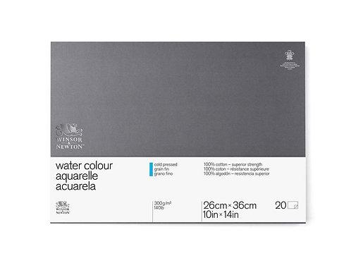 W&N Super Premium - Akvarellblokk Kaldpresset Limt 300g 26x36 cm