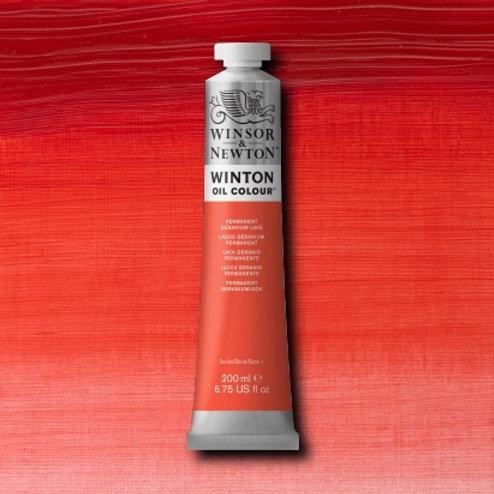 Winton Oil Colour Permanent Geranium Lake