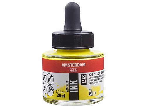 Amsterdam Ink 30ml – 267 Azo Yellow Lemon