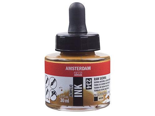 Amsterdam Ink 30ml – 234 Raw Sienna