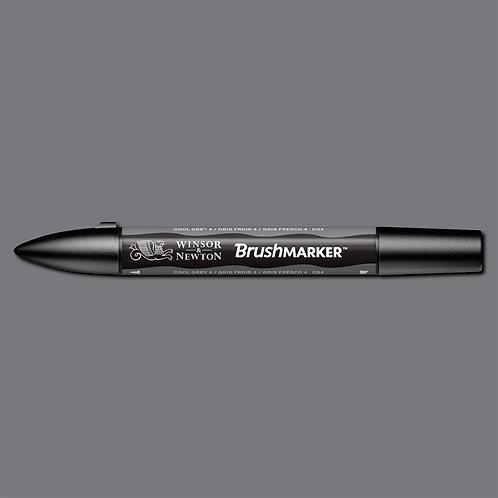 W&N Brushmarker - Cool Grey 4