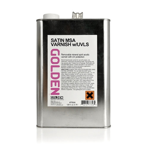 GOLDEN Ferniss Satin 3,78L