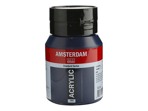 Amsterdam Standard 500ml - Prussian Blue Pthalo