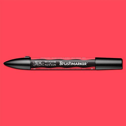 W&N Brushmarker - Poppy Red