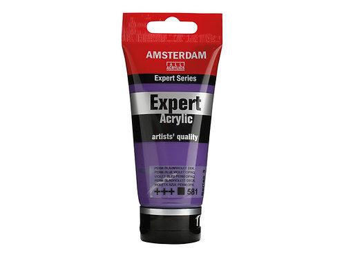 Amsterdam Expert 75ml - Permanent Blue Violet Opaque