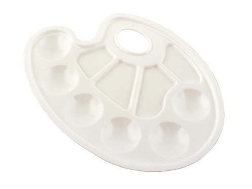 Plastpalett – Oval – 10 rom