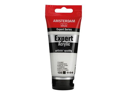 Amsterdam Expert 75ml - Titanium White