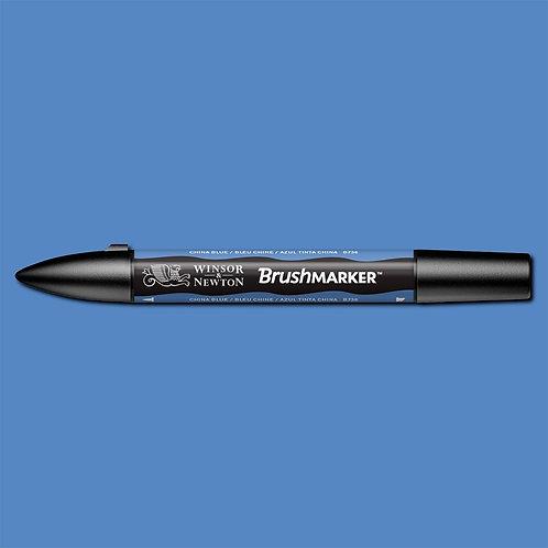 W&N Brushmarker - China Blue