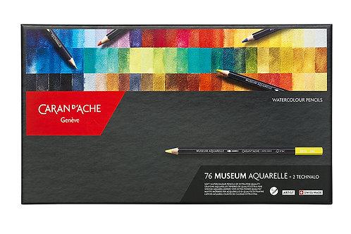 Caran d'Ache Museum Aquarelle 76-pack + 2 Technalo