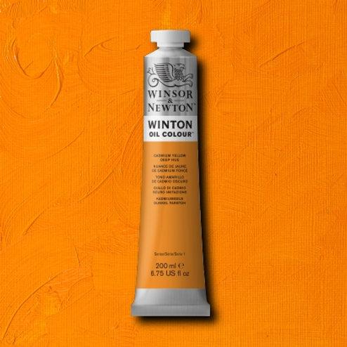 Winton Oil Colour Cadmium Yellow Deep Hue