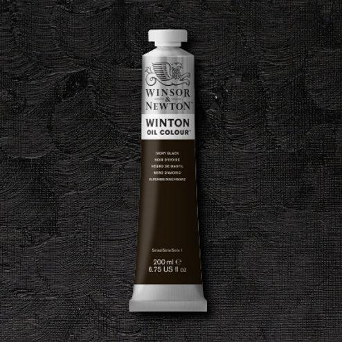Winton Oil Colour Ivory Black