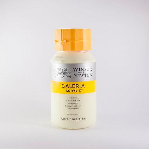 Galeria Acrylic Pale Lemon