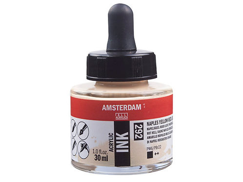Amsterdam Ink 30ml – 292 Naples Yellow Red