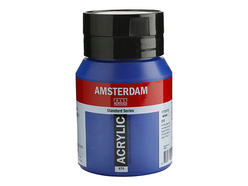 Amsterdam Standard 500ml - Pthalo Blue