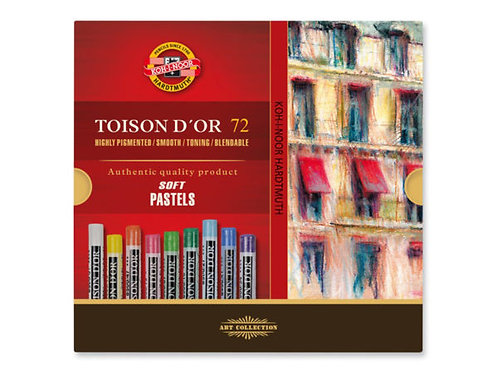 Koh-i-Noor Soft Pastel Rund – Sett 72stk