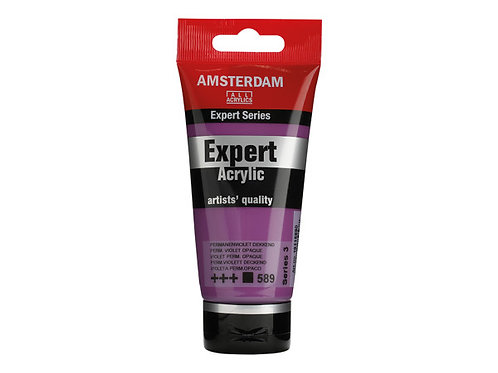 Amsterdam Expert 75ml - Permanent Violet Opaque