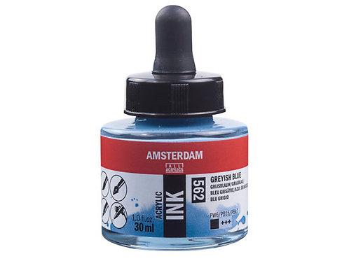 Amsterdam Ink 30ml – 562 Greyish Blue