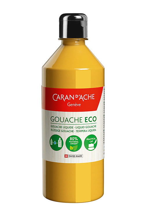 Caran d'Ache Gouache ECO Liquid 500ml Ochre
