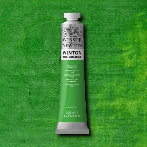 Winton Oil Colour Permanent Green Light