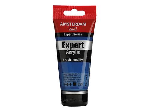 Amsterdam Expert 75ml - IndanthreneBlue (Pthalo)