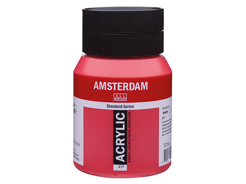 Amsterdam Standard 500ml - Transparent Red Medium