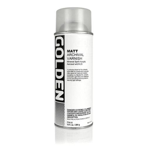 GOLDEN Ferniss Matte 400ml Spray