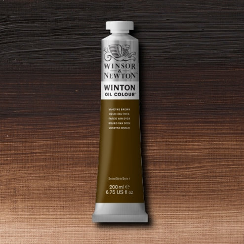 Winton Oil Colour Vandyke Brown
